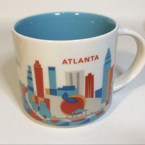 Starbucks Atlanta You Are Here Collection Mug 2015